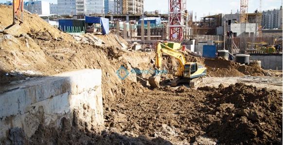 Строительство 4-й жилой комплекс в южной части 5-го микрорайона 2013г. Адрес: г. Видное, Московская область
